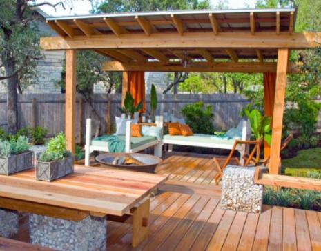 Building Deck Diy Platform For A Grill